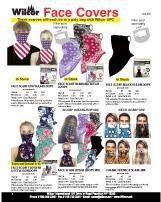 Bandanas & Face Covers